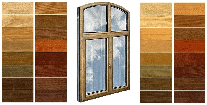 Внутренняя отделка дерево-алюминиевых окон типа WoodAll