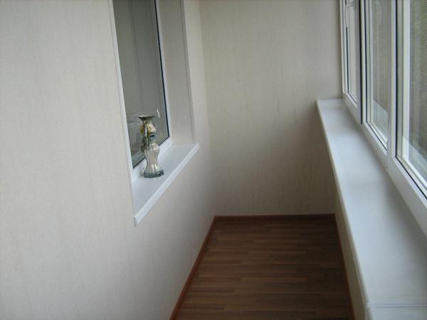 Внутренняя отделка балконов цены