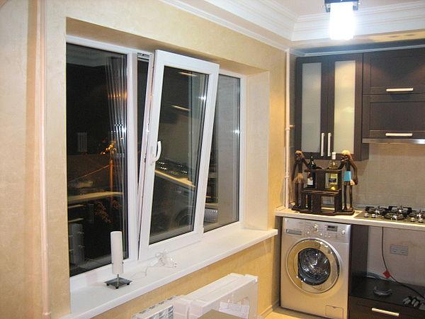 металлопластиковые окна на кухню