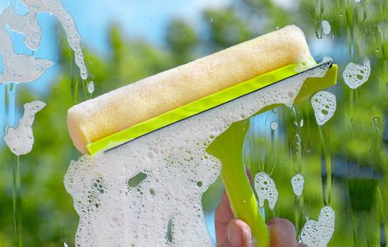 как мыть алюминиевые окна